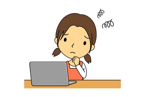 여성 주부 컴퓨터 7