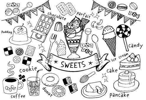 sweets handwriting set 1