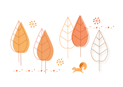 Fall illustration