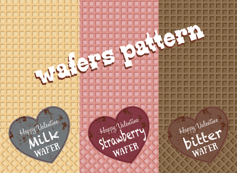 Patterns that can be used with Valentine 3