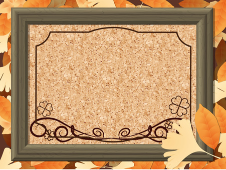 Fallen leaf frame 05