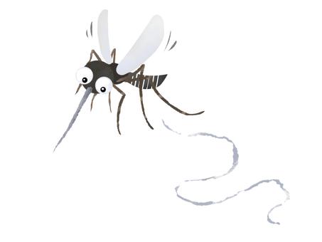 날아 다니는 모기