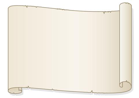 Old paper (sideways)