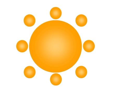 Sun mark