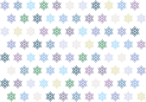 多彩的水晶