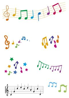 Music notes ♪