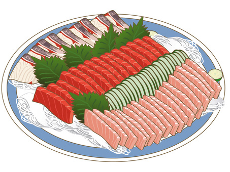 Assorted sashimi ~ Cooking dish ~
