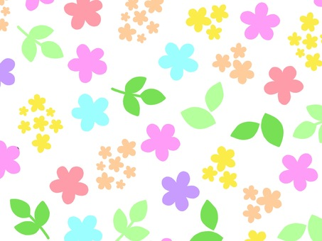 Flower pastel color wallpaper background material