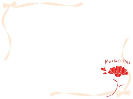 康乃馨裝飾框架4
