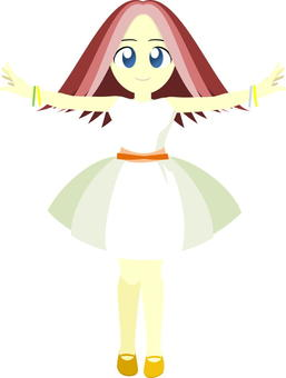 An idol style girl