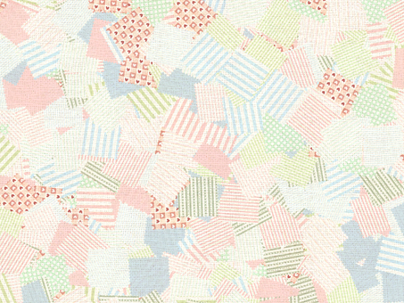 Patchwork wallpaper (canvas)