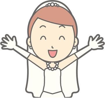 Bride dress - Banzai - Bust