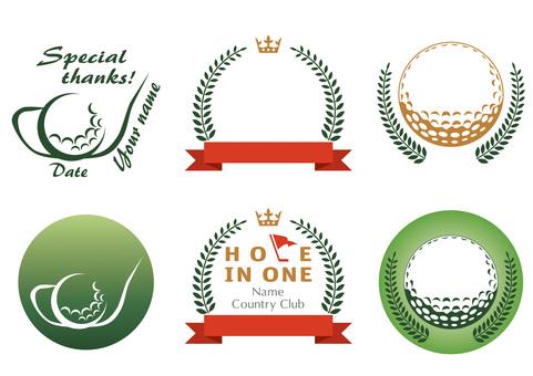Golf · Mark · Emblem