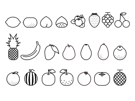 Fruit set icon