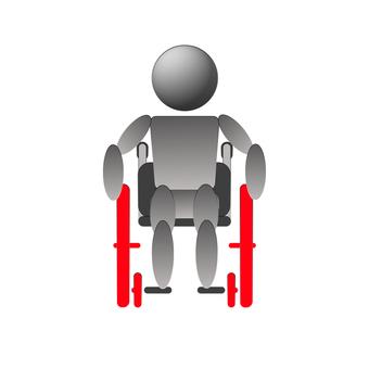Wheelchair front standard