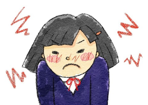 Angry girl angry angry