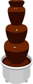 Chocolate, chocolate fondue