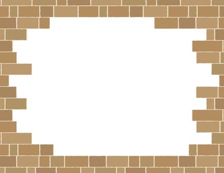 Brick frame _ transparent