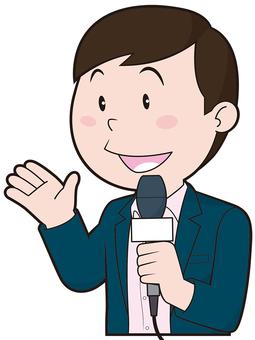 Reporter (male)