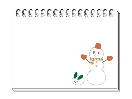 Sketchbook winter