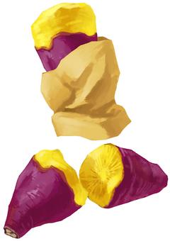 Sweet potato set