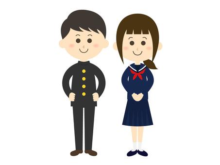 Student couple 01