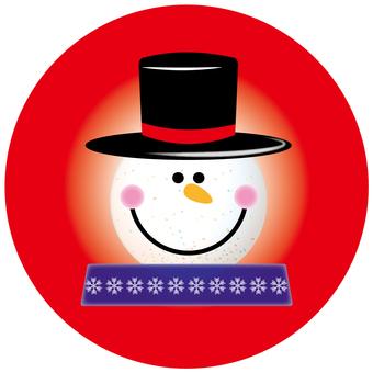 Snowman's ornament