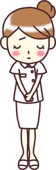 【Female white costume 3】 Under _ apology _ whole skirt _ skirt