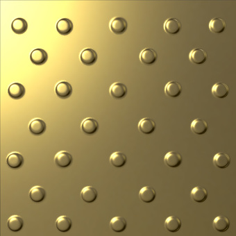 Metal plate - Gold