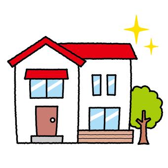 房屋新建獨立式房地產