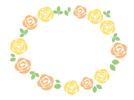 Rose circle (yellow series)
