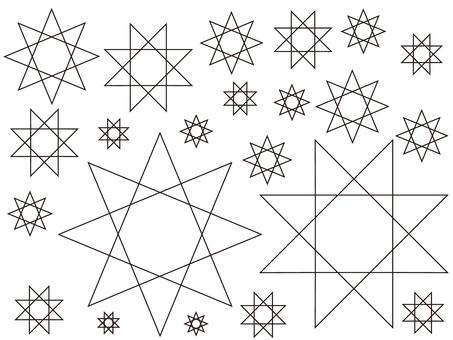 Eight stars