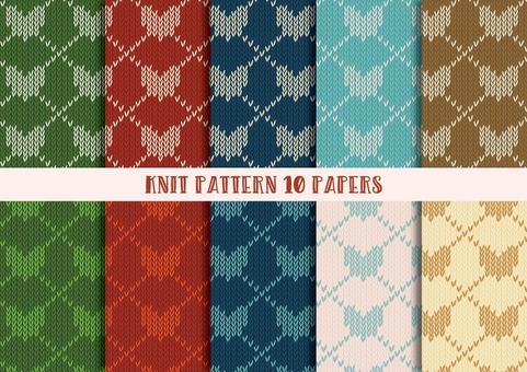 Knit Pattern Set (Heart 01)