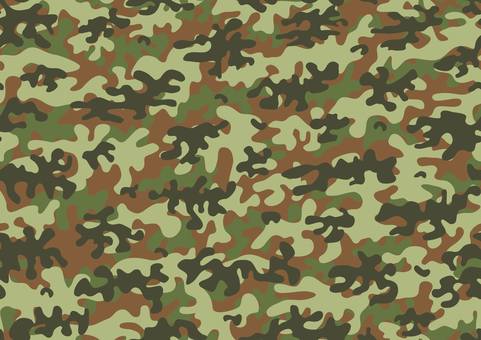 Seamless camouflage wallpaper texture