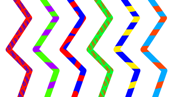 Various vertical bars