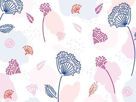 Botanical wallpaper 04