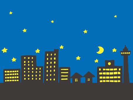 Townscape Night Scene 2