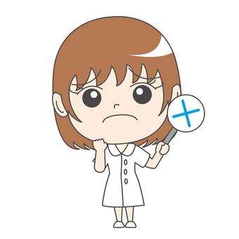 Nurse A: Front: Hearts: Incorrect