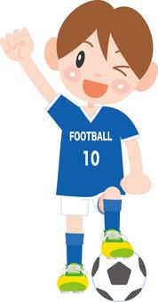 A soccer boy