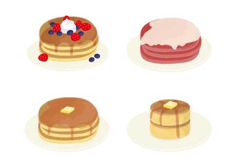 Pancakes and hotcakes