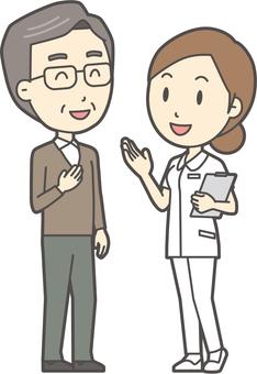 看護師と会話-014-全身