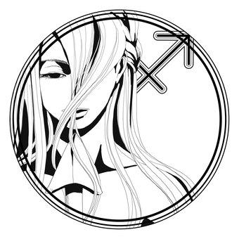12星座シンボル【射手座】