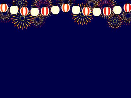Summer festival image background