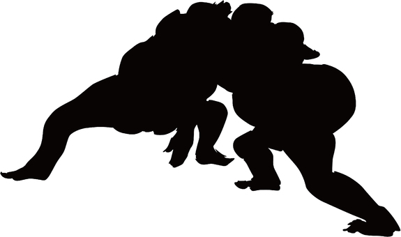 Ukiyo-e character silhouette part 80