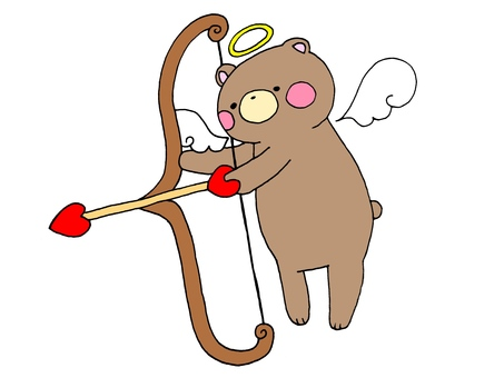 Bear Cupid 1 of 2