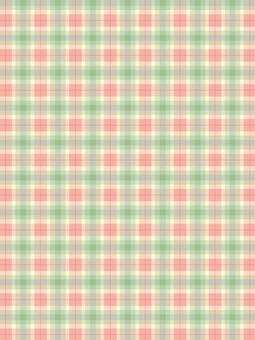 Check pattern pink × green pattern