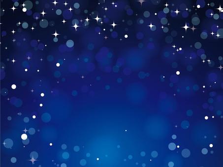 Blue night sky [1]