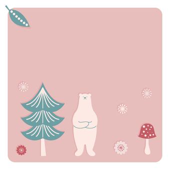 Scandinavian illustrations card