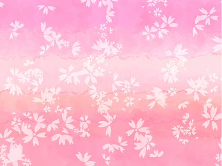 Cherry-blossom background