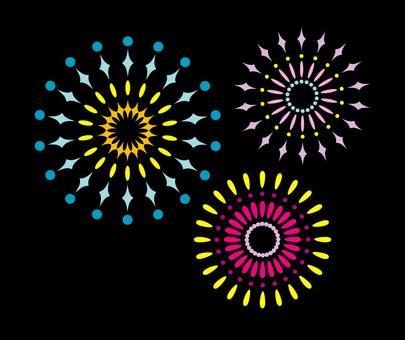 Ethnic fireworks